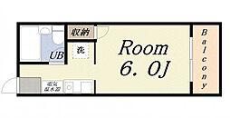 ラ・ジェンテ25[4階]の間取り