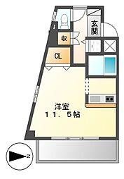 ライフステージ白壁II[6階]の間取り