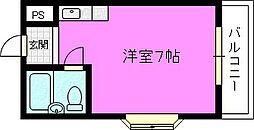 TTN鴻池[3階]の間取り