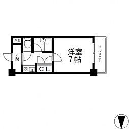 アネックス木の国[3階]の間取り