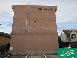 滋賀県大津市際川2丁目の賃貸アパートの外観