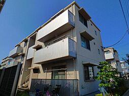 東京都足立区六木3丁目の賃貸マンションの外観