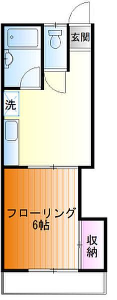 コーポクレヨン[202号室]の外観