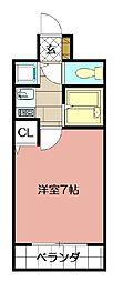 ライオンズマンション小倉駅南第2 506[506号室]の間取り