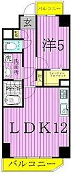While 椿[101号室]の間取り