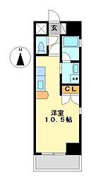 サムティ東別院レジデンス(旧クレグラン東別院)[2階]の間取り