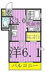 (仮)明原D-roomTV明原3丁目[105号室]の間取り