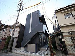 愛知県名古屋市中川区三ツ池町2丁目の賃貸アパートの外観