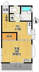 メゾン吉澤II[202号室]の間取り