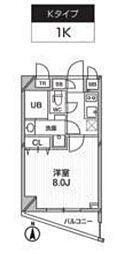 新築 レクシード武蔵関駅前[101号室号室]の間取り