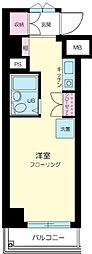 キャッスルマンション笹塚[9階]の間取り