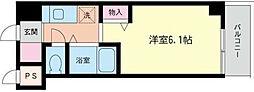 神奈川県横浜市中区若葉町2丁目の賃貸マンションの間取り