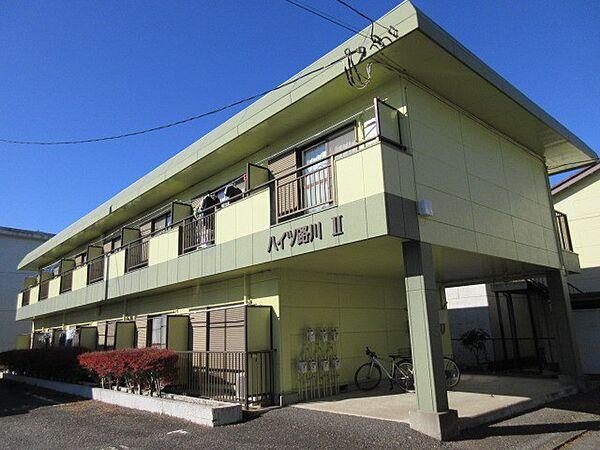 ハイツ路川II 1階の賃貸【茨城県 / つくば市】