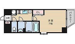 ファーストステージ江戸堀パークサイド[12階]の間取り