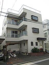 神奈川県川崎市中原区小杉町2丁目の賃貸マンションの外観