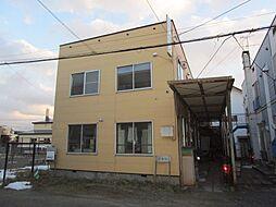 北海道札幌市東区北三十三条東8丁目の賃貸アパートの外観