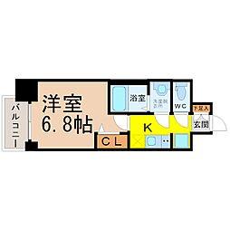 仮)プレサンス大曽根駅前ファースト[10階]の間取り