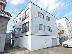 北海道札幌市東区北三十四条東27丁目の賃貸アパートの外観