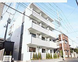 埼玉県川口市並木の賃貸マンションの外観