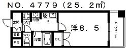 ブリリアントコート[3階]の間取り
