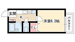 いづみコーポ[207号室]の間取り