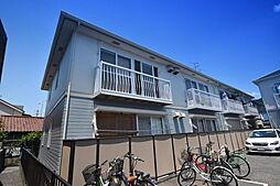 大阪府柏原市大県2丁目の賃貸アパートの外観