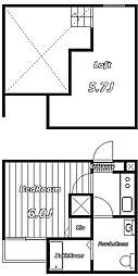 BLOOM[2階]の間取り