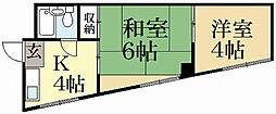 ハイツ里ノ前[3階]の間取り