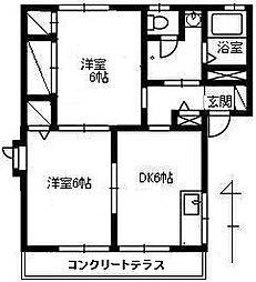 エスポワール藤[B102号室]の外観