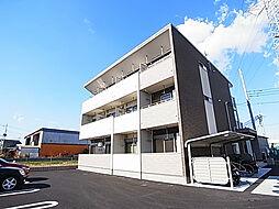 埼玉県八潮市大字木曽根の賃貸アパートの外観