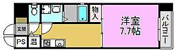 キラリ8-1ビル[8階]の間取り