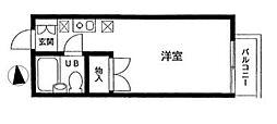 ハイツ新井[2F号室]の間取り