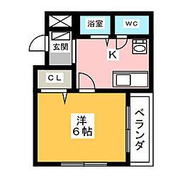 第5伊藤ビル[2階]の間取り