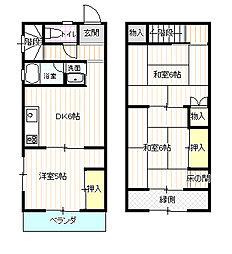 松山荘[1階]の間取り