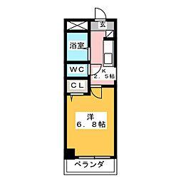 キャロット385[4階]の間取り