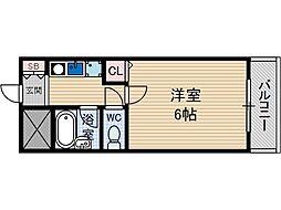 PAL千里丘[4階]の間取り