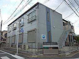 東京都足立区花畑3丁目の賃貸アパートの外観