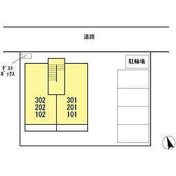 広島県呉市広古新開2丁目の賃貸アパートの外観
