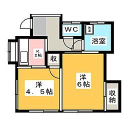 三ツ沢上町駅 5.5万円