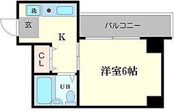 クイーンズマンション元町[3階]の間取り