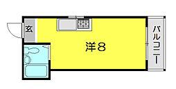 スカイコーポ藤[3階]の間取り
