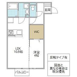 (仮)D-room松代2丁目[203号室号室]の間取り