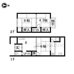 観月橋駅 4.8万円