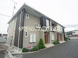 神奈川県愛甲郡愛川町中津の賃貸アパートの外観