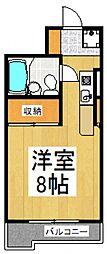 シティフォーラム新小平[4階]の間取り