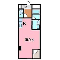 シャトーヨサミ[502号室]の間取り