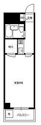 TISマンション堀の内[5階]の間取り