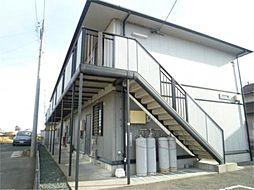 静岡県磐田市岩井の賃貸アパートの外観