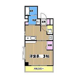 なかきやBLD[4階]の間取り