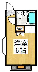 坂戸プチガーデン[2階]の間取り